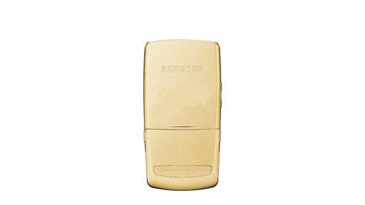 Biżuteria XXI wieku ? złote telefony od Samsung
